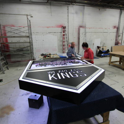 Large Retail Sign Construction