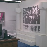 JFK Inauguration Museum Display
