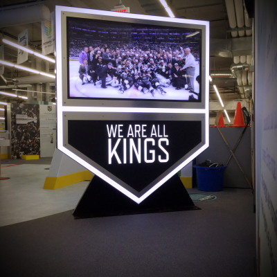 LA Kings Marquee Sign