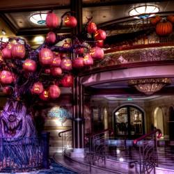 Disney Lobby Tree Exhibit