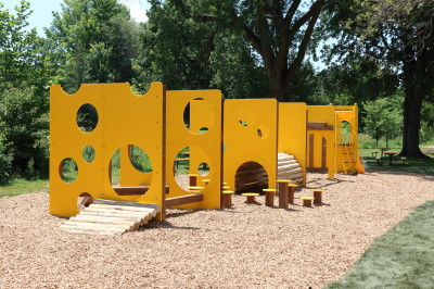 Sinking Ship Themed Playground
