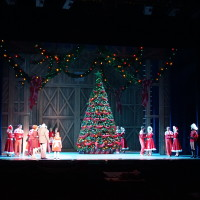 Christmas Play Theatre Set