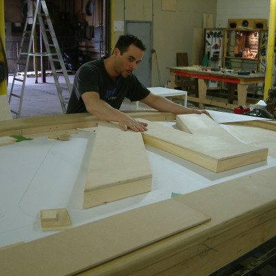 Wooden Sign Construction