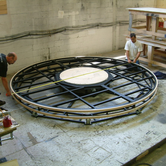 Turntable Construction