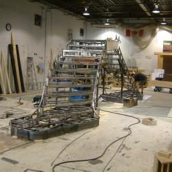 Stage Platform Construction