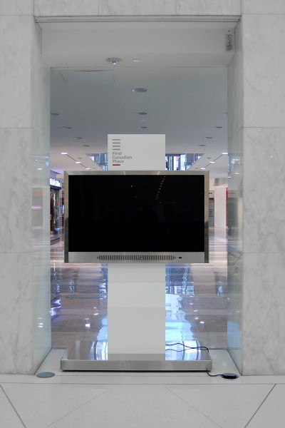 First Canadian Place Interactive TV Display