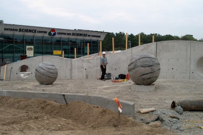 Ontario Science Centre Giant Orbs