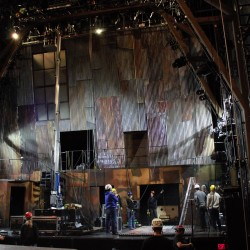Arrabal Theatre Set Construction
