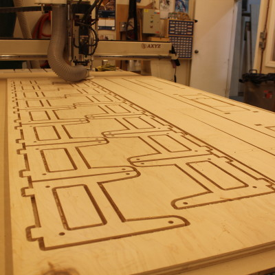 Complex CNC from CAD