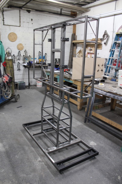 Large TV Display Frame - Metal Fabrication