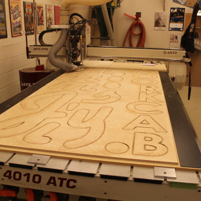 CNC Sign Making