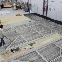 Theater Backdrop Construction