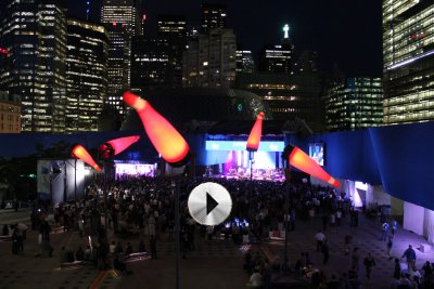 Windscape and Luminato Video